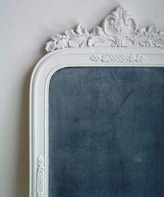 - vintage frame chalkboards