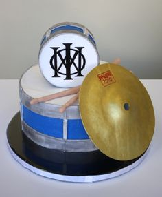 Drum Kit Cake Marching Band Special Birthday Cakes 2nd Ideas