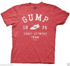 Run Forrest Run! This Forest Gump Cross Country T-Shirt is now available at Flashback Gear. Officially Licensed Forrest Gump T-Shirt Cotton Polyester Machine Washable Cross Country Shirts, Cross Country Running, Cross Country Quotes, Team T Shirts, Tee Shirts, Boss Shirts, Forrest Gump, Movie T Shirts, Mens Tees