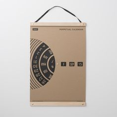 TAIT Design Co. Perpetual Wall Calendar Available from: Schoolhouse Electric & Supply Co. Diy Calendario, Wall Calendar Design, Kalender Design, Calendar May, Creative Calendar, Volkswagen, Look Office, Diy Inspiration, Perpetual Calendar