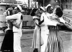 "Vera-Ellen, Gene Kelly, Ann Miller, Jules Munshin, Frank Sinatra, and Betty Garrett star in ""On the Town"" 1949"