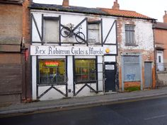 Rex Robinson's cycle shop Carlton Nottingham