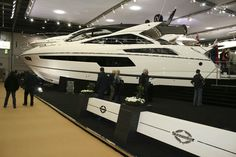 Sunseeker San Remo at the London Boat Show #theyachtownernet #boatshow