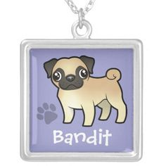 Pug Cartoon, Black Felt, Felt Ornaments, Pet Names, Dog Art, Small Dogs, Custom Jewelry, Pugs, Your Pet