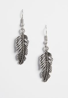 On my wish list #wishpinwinsweepstakes #discovermaurices. silvertone feather earrings