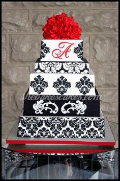Wedding cake photos from She Bakes Cakes, LLC, Lexington, KY   She Bakes Cakes LLC