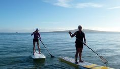 Standup Paddle Boarding with All Girl Adventures in New Zealand