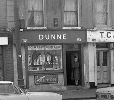 Dunne's Tobacconist, Amiens Street 1971.