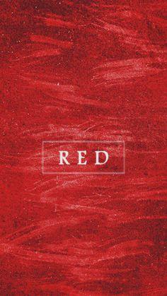 "Colour du jour - ""dark scarlet"". Not too bright, but not as dark as maroon..."