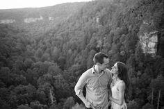 Stephanie Benge Photography | Nashville Wedding Photographer | Fall Creek Falls | Nashville | Engagement Photos | Engagement Session