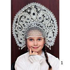Russischen traditionellen Kokoshnik Tatjana