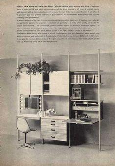 Dream furniture / / Herman Miller.