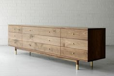 millord Modern Wood Furniture, Japanese Furniture, Steel Furniture, Mid Century Modern Furniture, Art Furniture, Handmade Furniture, Furniture Design, Dresser In Living Room, Living Room Storage