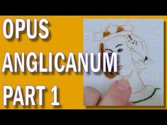 Embroidered medieval face - Opus Anglicanum part 1 Hand Embroidery Projects, Hand Embroidery Tutorial, Embroidery For Beginners, Embroidery Stitches, Embroidery Patterns, Fabric Patterns, Sewing Patterns, The Royal School, Medieval Embroidery
