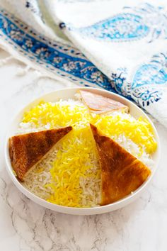 Persian Rice is the key element of Persian cuisine. Learn the easiest method with details once to make the perfect Persian rice recipe with a crispy golden crust called Tahdig every time. Rice Recipes, Side Dish Recipes, Lunch Recipes, Gourmet Recipes, Healthy Recipes, Kitchen Recipes, Pasta Recipes, Appetizer Recipes, Salad Recipes