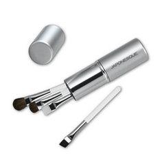 Japonesque Brush Set Touch Up Tube Eye Set Silver | $25 and Under | Birchbox