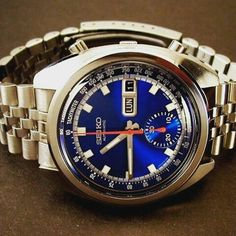 Vintage seiko love the blue dial MS
