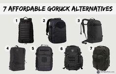 Backpacks similar to Goruck GR1
