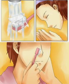 Remove-blackheads-from-your-skin-by-toothbrush-and-toothpaste