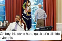 19 Totally Real Conversations Obama And Biden Have Had Since The Election ( I literally cannot stop laughing !!!)