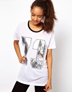$12.66 ASOS Varsity Number 73 T-Shirt