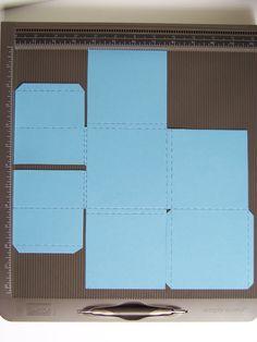 Stamp 2 LiNotte: TUTO : Mini 30x30cm avec le simply scored