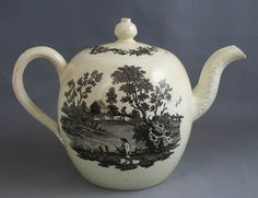 Wedgewood Creamware Teapot - 1780