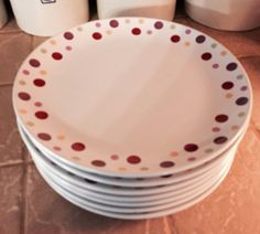 P&ered Chef Simple Additions Dinner Plates  sc 1 st  Pinterest & Red hot dinnerware? Hell yes with these great Dansk Rhubarb Dinner ...