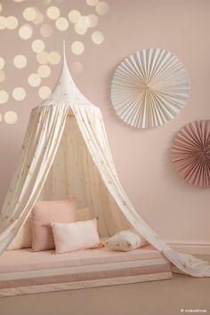 Haiku bird: the natural kids bedroom - Kids accessories - NOBODINOZ Girl Bedroom Designs, Girls Bedroom, Baby Room Decor, Bedroom Decor, Whimsical Bedroom, Junior Bed, Bed Tent, Girl Room, Room Inspiration
