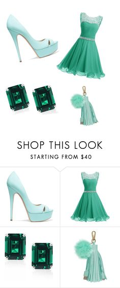 """""""Untitled #13"""" by dzeni226683 ❤ liked on Polyvore featuring Casadei and CARAT* London"""