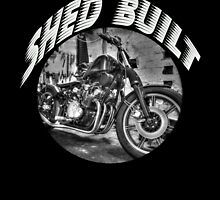 Shed built motorcycles by It Works, Motorcycles, Shed, Motorcycle, Sheds, Motorbikes, Coops, Crotch Rockets