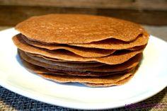 veg-i-vet: Pohankové bezlepkové palačinky Pancakes, Breakfast, Healthy, Sweet, Food, Morning Coffee, Candy, Pancake, Meals