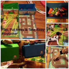 Kids Find the Fun in Putting Toys Away with Toytainer #spon