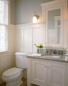 board and batten bathroom