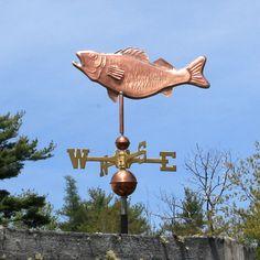 Copper Fish Weathervane : Weathervane Factory