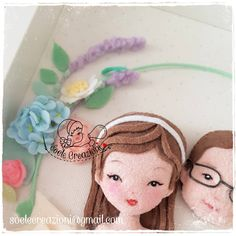 Personalized Baby Gifts, Felt Dolls, Projects To Try, Frame, Doll Dresses, Coraline, Diy, Crafts, Fertility
