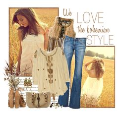 """Isabel Marant peasant blouse"" by annabu on Polyvore"