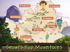 Seouls top mountains