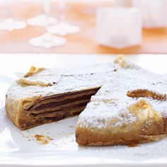 Mexican Chocolate and Dulce de Leche Crêpe Torte // More Fabulous Mexican Desserts: http://www.foodandwine.com/slideshows/mexican-desserts #foodandwine #favoritesfriday
