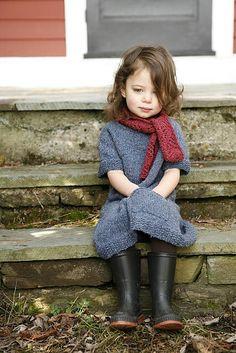 Trendy knitting for kids little girls daughters children Ideas Knitting For Kids, Baby Knitting, Foto Portrait, Stylish Kids, Kid Styles, Beautiful Children, Kind Mode, Belle Photo, Kids Wear