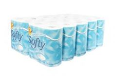 Softy 2ply Toilet Roll Paper Products, 2 Ply, Toilet, Rolls, Flush Toilet, Buns, Litter Box, Bread Rolls, Toilets