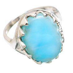 Ana Silver Co Rare Larimar 925 Sterling Silver Ring Size 8 RING832748 >>> For more information, visit image link. (This is an affiliate link and I receive a commission for the sales)