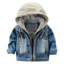 Resultado de imagem para jaqueta infantil jeans