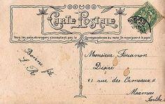 Bride & Groom Carte Postale - The Graphics Fairy