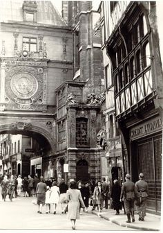 France. Rouen occupied by german army, 1940-1944. // Patrick Coiffier