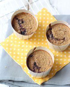 Deze gezonde muffins zijn ideaal als tussendoortje, maar ze zijn ook lekker voor bij de koffie of thee. Je kunt ze gewoon ieder moment van de dag eten! Zo lekker zijn ze. Gezonde muffins met griekse yoghurt Recept voor 4…