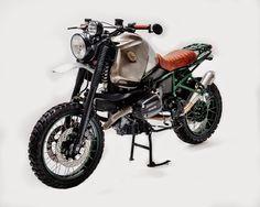 Custom Bike Buldozzer Build of a BMW R1100GS 1999