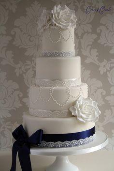 Something Blue #WeddingCake