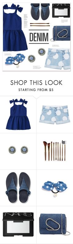 """""""DENIM"""" by mycherryblossom ❤ liked on Polyvore featuring STELLA McCARTNEY, FitFlop, Cara, NARS Cosmetics and 3.1 Phillip Lim"""