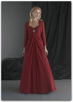 floor length elegant mother of the bride dresses with jackets - Google Search